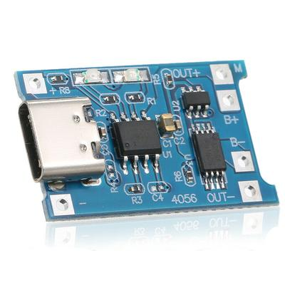 TP4056 5V 1A USB Type-C 18650 Lithium Battery Charging and Protection Board