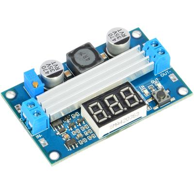 FP5139 100W DC-DC Boost Step-up Voltage Converter Module Adjustable Power Regulator Board with LED Voltage Meter
