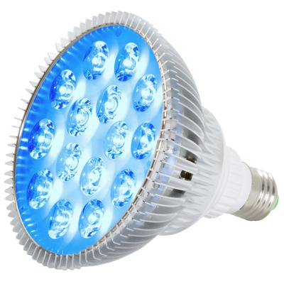 ABI True 24W Blue LED PAR38 Grow Light for Aquarium and Plant Growth (450-460nm)