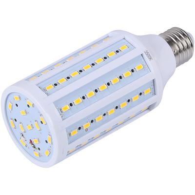 100W Equivalent LED Bulb 75-Chip Corn Light E26 1850lm 17W Soft Warm 3000K