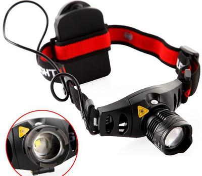 500 Lumen LED Headlamp Indoor/Outdoor with Three Light Modes and Adjustable Focus