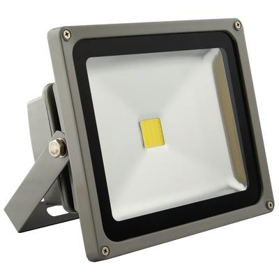 ABI 30W LED High Power Outdoor Security Flood Light, Daylight White 4000K