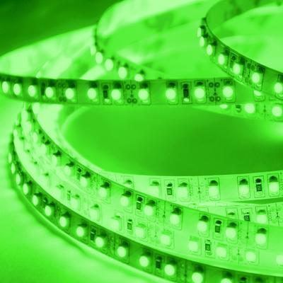 ABI 600 LED Double Density Light Strip, Green, 16.4 FT, SMD 3528, 12V