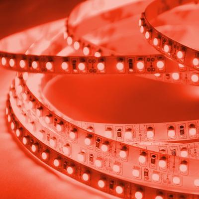 ABI 600 LED Double Density Light Strip, Red, 5M, SMD3528, 12 V