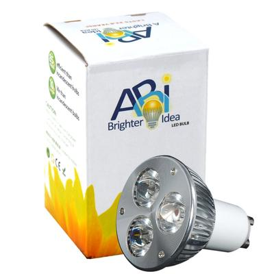 ABI® 3-Watt LED Spotlight Bulb GU10 Warm White 30° (20W Replacement)