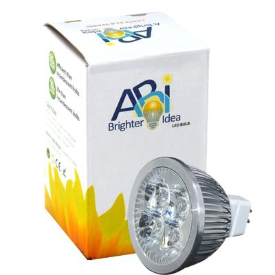 ABI 4-Watt LED MR16 GU5.3 3000K Warm White Track Light Bulb (30W Replacement)