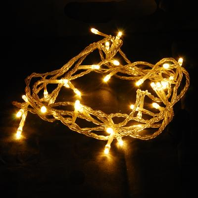 Abi 100 Count Led Christmas Light For Indoor Outdoor Decoration Warm White
